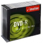 DVD-R Imation 16x 4.7GB, Slim box