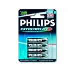 Philips Extreme life baterka AAA LR03-P4/12B
