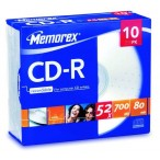 CD-R Memorex slim 700MB